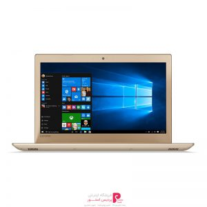 لپ تاپ 15 اینچی لنوو مدل Ideapad 520 - K - GOLD