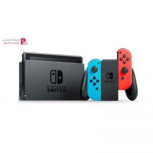 کنسول بازی نینتندو مدل Switch Neon Blue and Neon Red Joy-Con - 0