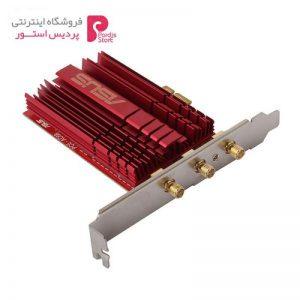 کارت شبکه بیسیم، دو بانده و PCI Express ایسوس مدل PCE-AC68 - 0