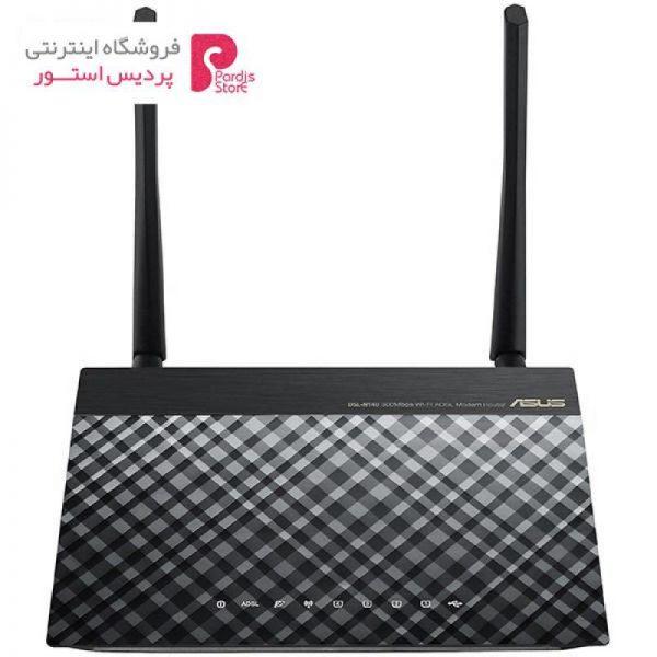 مودم روتر ADSL2 Plus بی سیم N300 ایسوس مدل DSL-N14U-b1 - 0