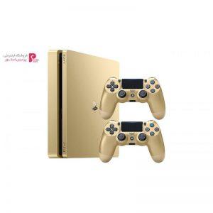 کنسول بازی سونی مدل Playstation 4 Slim کد CUH-2016A Region 2 - ظرفیت 500 گیگابایت به همراه دو دسته - 0