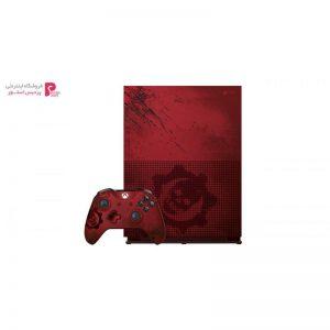 مجموعه کنسول بازی مایکروسافت مدل Xbox One S ظرفیت 2 ترابایت طرح Gears Of War 4 - 0