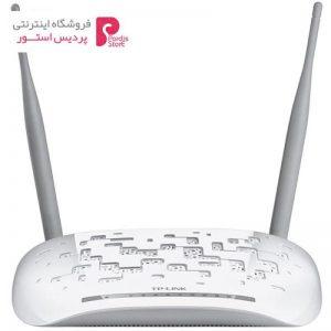 مودم روتر ADSL2 Plus بیسیم N300 تی پی-لینک مدل TD-W8968 - 0