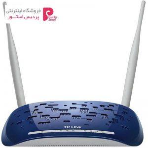 مودم روتر +ADSL2 بی سیم N300 تی پی-لینک مدل TD-W8960N - 0