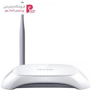 مودم روتر ADSL2 Plus بیسیم N150 تی پی-لینک مدل TD-W8901N - 0