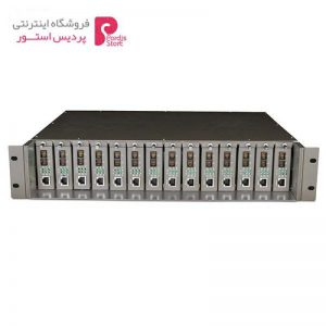مبدل فیبر 14 اسلات تی پی-لینک مدل TL-MC1400 - 0