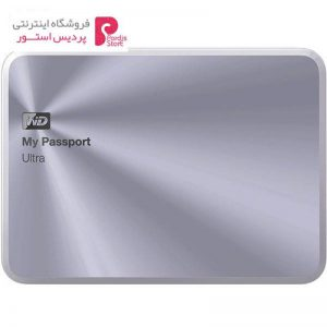 هارددیسک اکسترنال وسترن دیجیتال مدل My Passport Ultra Metal Edition ظرفیت 3 ترابایت - 0