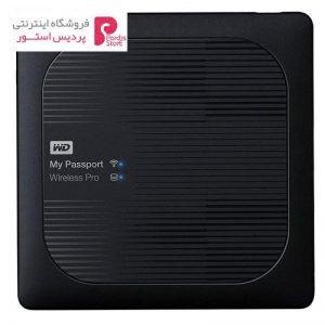 هارددیسک اکسترنال وسترن دیجیتال مدل My Passport Wireless PRO ظرفیت 2 ترابایت - 0