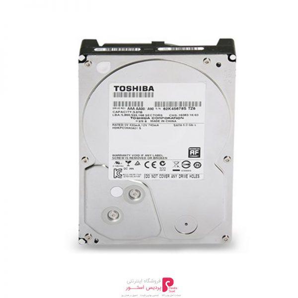 هارد دیسک اینترنال توشیبا DT01ACA200 ظرفیت 2 ترابایت 32 مگابایت کش