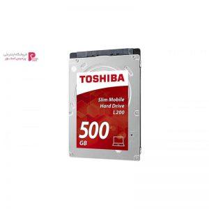 هارددیسک اینترنال توشیبا مدل L200 HDWK105UZSVA ظرفیت 500 گیگابایت - 0