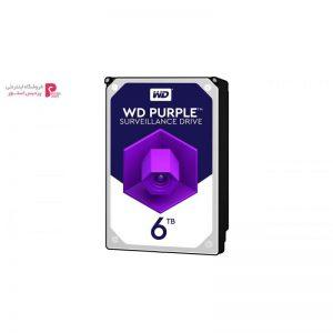 هارددیسک اینترنال وسترن دیجیتال مدل Purple WD60PURZ ظرفیت 6 ترابایت - 0