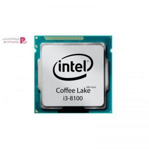 پردازنده مرکزی اینتل سری Coffee Lake مدل i3-8100 تری - 0