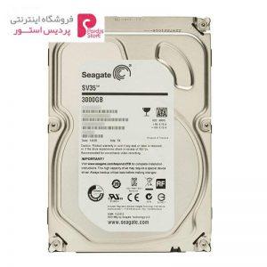 هارد دیسک اینترنال سیگیت مدل SV35.6 ظرفیت 3 ترابایت 64 مگابایت کش ST3000VX000 - 0