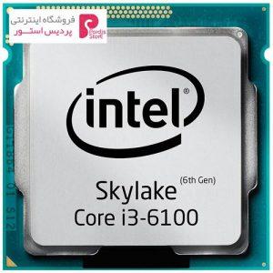پردازنده مرکزی اینتل سری Skylake مدل Core i3-6100 - 0