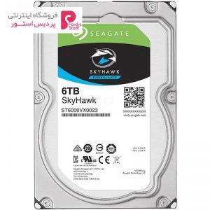 هارددیسک اینترنال سیگیت مدل SkyHawk ST6000VX0023 ظرفیت 6 ترابایت - 0