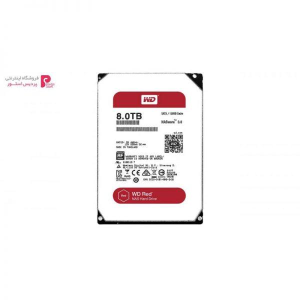 هارد دیسک اینترنال وسترن دیجیتال مدل نس ظرفیت 8 ترابایت 128 مگابایت کش WD80EFZX - 0