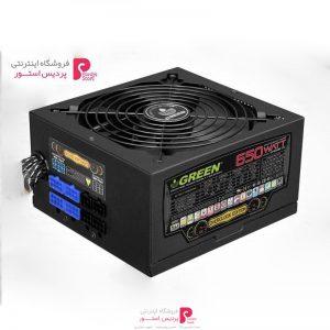 منبع تغذیه کامپیوتر گرین مدل GP650B-OC