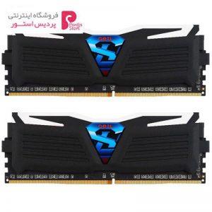 رم دسکتاپ DDR4 دو کاناله 2400 مگاهرتز CL15 گیل مدل Super Luce سری مشکی ظرفیت 8 گیگابایت - 0