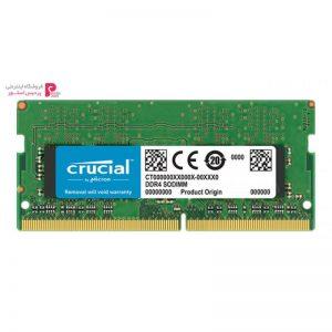 رم لپ تاپ DDR4 تک کاناله 2133 مگاهرتز CL15 کروشیال ظرفیت 4 گیگابایت - 0
