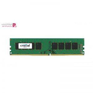 رم دسکتاپ DDR4 تک کاناله 2133 مگاهرتز کروشیال ظرفیت 8 گیگابایت - 0