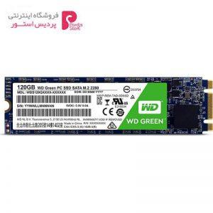 حافظه SSD وسترن دیجیتال مدل GREEN WDS120G1G0B ظرفیت 120 گیگابایت - 0