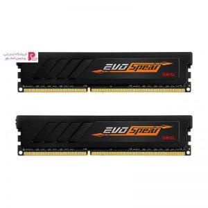 رم دسکتاپ DDR4 دو کاناله 2400 مگاهرتز CL17 گیل مدل Evo SPEAR ظرفیت 16 گیگابایت - 0