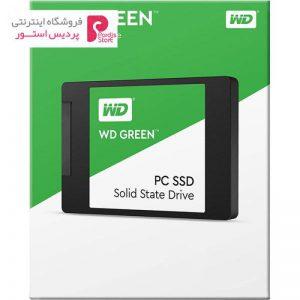 حافظه SSD وسترن دیجیتال مدل GREEN WDS240G1G0A ظرفیت 240 گیگابایت - 0