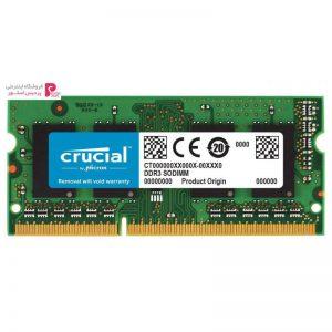 رم لپ تاپ DDR3L تک کاناله 1866 مگاهرتز CL13 کروشیال ظرفیت 8 گیگابایت - 0