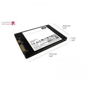 اس اس دی اینترنال وسترن دیجیتال مدل Green PC WDS120G2G0A ظرفیت 120 گیگابایت - 0