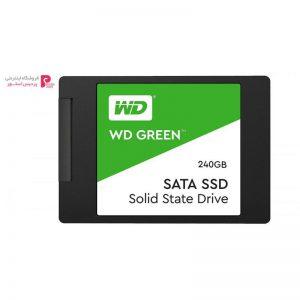 اس اس دی اینترنال وسترن دیجیتال مدل Green WDS240G2G0A ظرفیت 240 گیگابایت - 0