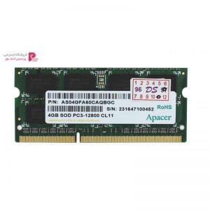 رم لپ تاپ اپیسر مدل DDR3 ، 1600MHZ ظرفیت 4 گیگابایت - 0