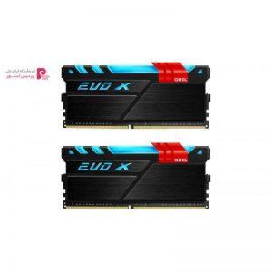 رم دسکتاپ DDR4 دو کاناله 3200 مگاهرتز CL16 گیل مدل Evo X ظرفیت 16 گیگابایت - 0