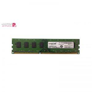 رم کامپیوتر کروشیال مدل DDR3 1600MHz 12800 ظرفیت 2 گیگابایت - 0