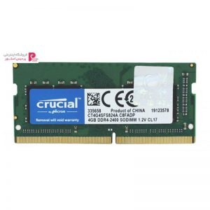 رم لپ تاپ کروشیال مدل DDR4 ، 2400MHZ ظرفیت 4 گیگابایت - 0