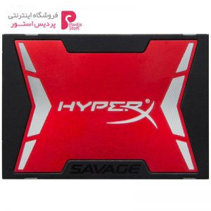 حافظه SSD کینگستون مدل HyperX Savage با ظرفیت 240 گیگابایت به همراه کیت ارتقا - 0