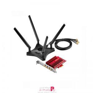 کارت-شبکه-بی-سیم-ایسوس-مدل-PCE-AC88-4x4