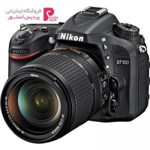 دوربین دیجیتال نیکون مدل D7100 به همراه لنز 18-140 میلی متر - 0