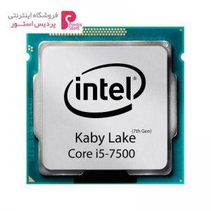 پردازنده مرکزی اینتل سری Kaby Lake مدل Core i5-7500 تری - 0