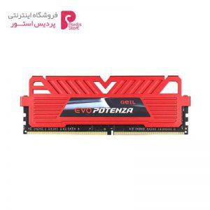 رم دسکتاپ DDR4 تک کاناله 24000 مگاهرتز CL17 گیل مدل Evo Potenza ظرفیت 8 گیگابایت Geil Evo Potenza DDR4 24000MHz CL17 Single Channel Desktop RAM - 8GB - 0