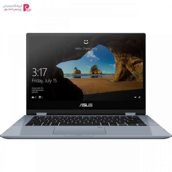 لپ تاپ 15 اینچی ایسوس مدل VivoBook Flip TP412UA - B - 0