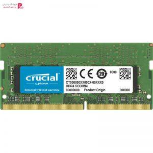 رم لپ تاپ DDR4 دو کاناله 2666 مگاهرتز CL19 کروشیال ظرفیت 16 گیگابایت - 0