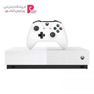 کنسول بازی مایکروسافت مدل Xbox One S ALL DIGITAL ظرفیت 1 ترابایت - 0