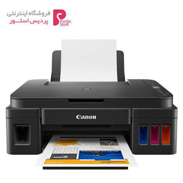 پرینتر چندکاره جوهرافشان کانن مدل PIXMA G2411 Canon PIXMA G2411 Multifunction Inkjet Printer - 0