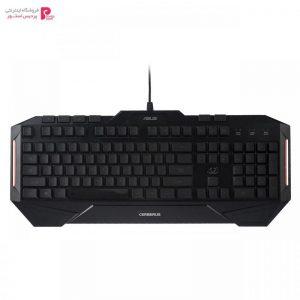 کیبورد مخصوص بازی ایسوس مدل Cerberus باحروف فارسی Asus Cerberus Gaming Keyboard With Persian Letters - 0