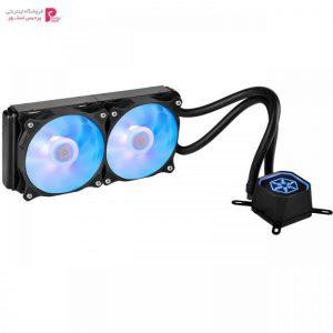 خنک کننده پردازنده سیلوراستون مدل Tundra SST-TD02-RGB Silverstone Tundra SST-TD02-RGB CPU Cooler - 0