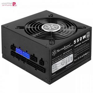 منبع تغذیه کامپیوتر سیلوراستون مدل Strider Platinum SST-ST55F-PT