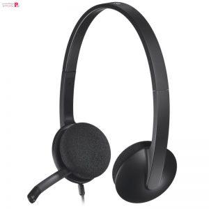 هدفون لاجیتک مدل H340 Logitech H340 Headphone - 0