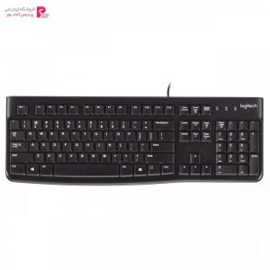 کیبورد لاجیتک مدل K120 Logitech K120 Wired Keyboard - 0