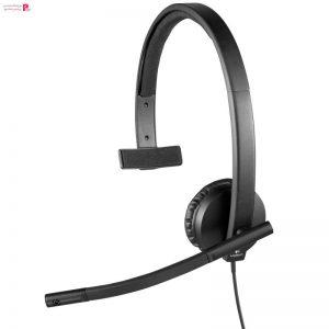 هدفون لاجیتک مدل H570E Stereo Logitech H570E Stereo Headset - 0