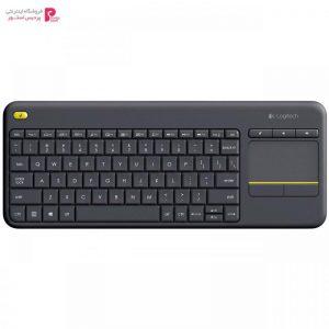 کیبورد بی سیم لاجیتک مدل K400 Plus Logitech K400 Plus Wireless Keyboard - 0
